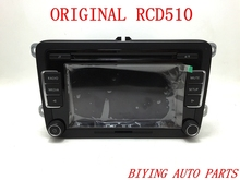 RCD510 VW Original Car MP3 SD USB Radio Stereo RCD510 Radio With Code For VW Golf 5 6 Jetta CC Tiguan Passat Polo(China (Mainland))
