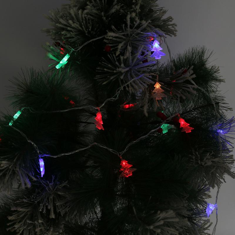 Led String Lights For Christmas Trees : New Hot LED String Lights Christmas Style for Garden Fairy Wedding Party Decor Christmas Tree ...