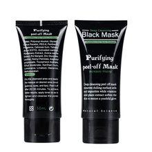 5pcs/lot SHILLS Deep Cleansing purifying peel off Black mud Facail skin care face black mask Remove acne blackhead facial mask(China (Mainland))