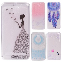 Buy C2 Transparent Phone Cases sFor Lenovo Vibe C2 Case Silicone Fresh Slim Soft Back Cover Lenovo C2 K10A40s Butterfly Girl for $1.25 in AliExpress store