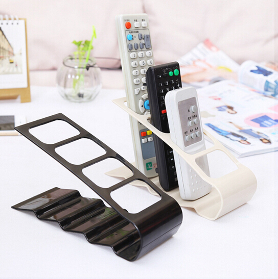 Plastic TV DVD VCR Step Remote Control Mobile Phone Holder Stand Storage Caddy Organiser(China (Mainland))
