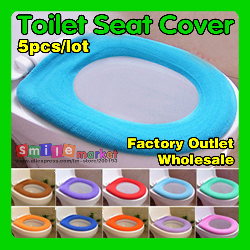Hot!! SOFT and COMFORTABLE Toilet Seat Cover(Random Send Colors Have large Stock for any time)(China (Mainland))