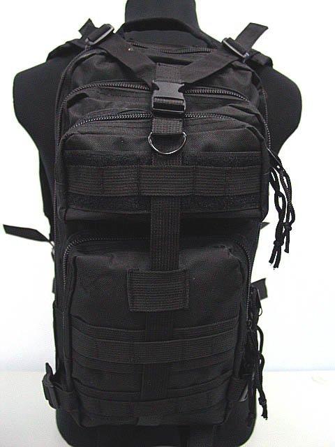 Level 3 Milspec Tactical Molle Assault Backpack Bag BK(China (Mainland))