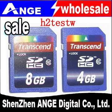 wholesale 2015TOP transcend sdhc sdxc card class10 8GB 16GB 32GB 64GB for camera SLR(China (Mainland))