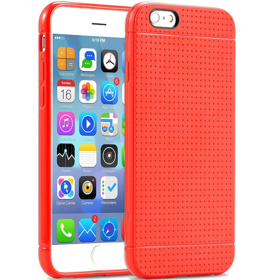iPhone 6 6S Plus Fashion Luxury Honeycomb Style Ultra Thin Silicon TPU Soft Case Candy Color Back Cover - FlovemeOfficial Store store