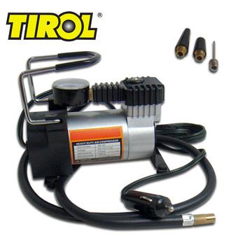 TIROL T10737b 12V 140 PSI Air Compressor  Auto Electric Portable Pump Heavy Duty Tire Inflator Tool