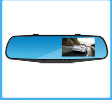 HD 4.3 inch screen car rearview mirror monitor With Backup Reverse Camera Parking Assistance Rear View Camera Car Styling(China (Mainland))