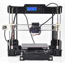2016 New Upgrade 3d printer DIY Kit Reprap Prusa i3 3d printer P802 Gift 2 Roll