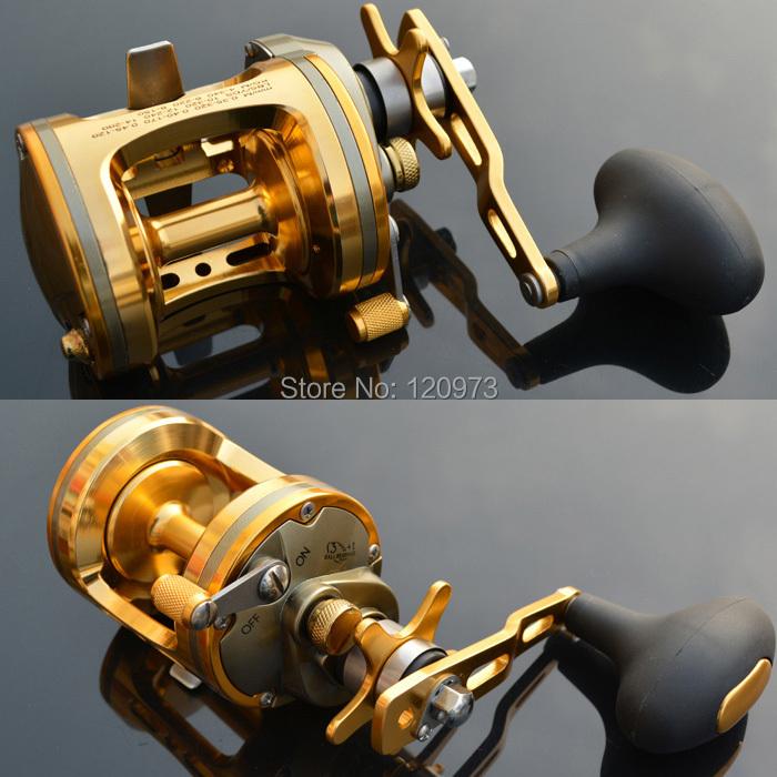 Здесь можно купить  Singnol ACT321 ACT331 ACT341 ACT351--4BB Trolling Fishing Reel Saltwater Baitcasting Reels Pesca Boat Reel Carp Drum Wheel   Спорт и развлечения