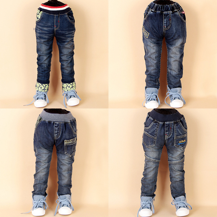 4 Color Boys Pants Boys Denim calca Jeans Pants Straight Childrenu0026#39;s Clothing Kids Boys Jeans ...