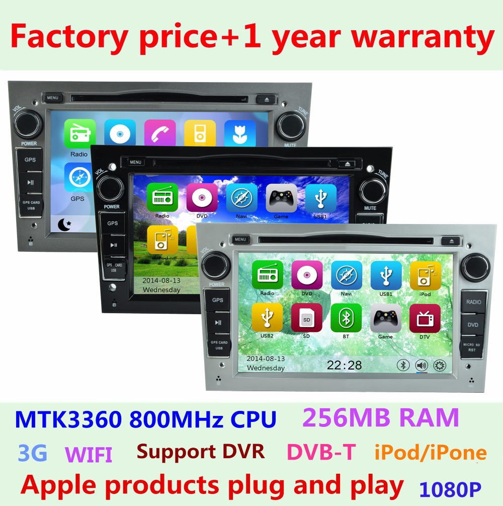 Factory Price Car DVD Player for Opel Astra H Combo Corsa Meriva Vivaro Tigra Signum Radio Stereo Iphone GPS Navigation system(China (Mainland))