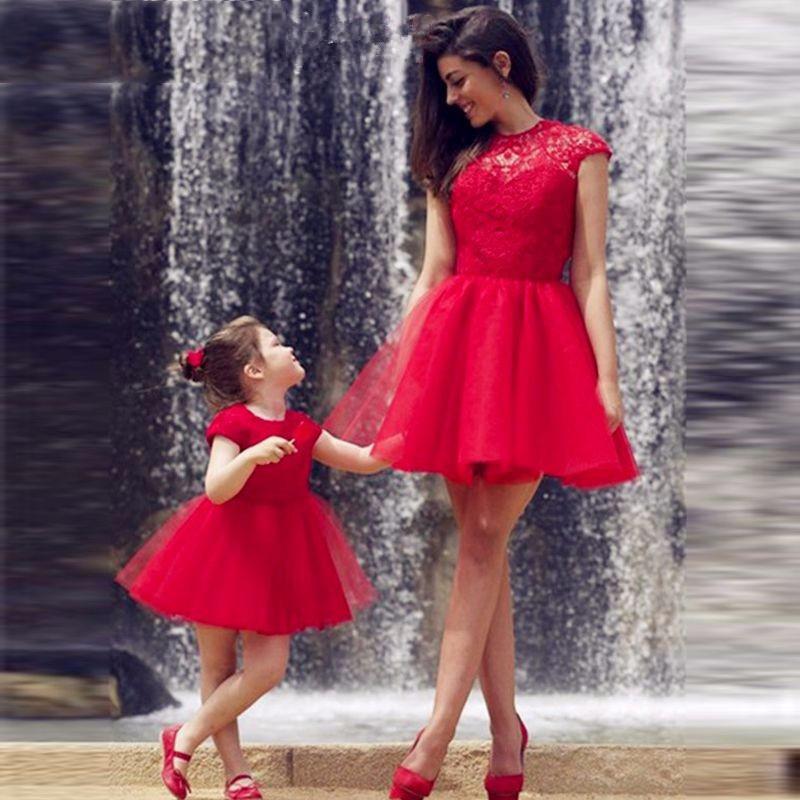 Платье мама-дочка