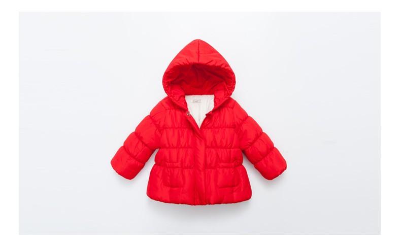 Скидки на Девушки Куртки и Пальто 2016 новые Зимние Куртки для девочек детские пальто для девочек одежда зимняя верхняя одежда детская одежда Девушки одежда