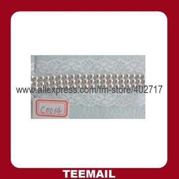 fashion metalic ribbon with aluminium mesh for apparel and bags in hot sale
