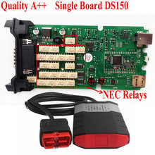 Quality A++ Single Board DS150 New NEC Relays V2014.R2 With Keygen Without Buletooth DS150E DS150 VCI TCS CDP PRO Plus(China (Mainland))