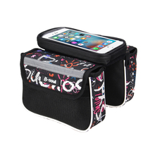 Buy 5.5 inch Phone Bicycle Bag Waterproof Touch Screen Cycling MTB Bike Bicycle Front Bag Top Tube Frame Bag Pannier Double Pouch for $4.95 in AliExpress store