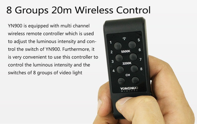 ถูก YONGNUO YN300 III YN-300 III LEDกล้องวิดีโอแสงที่มีอุณหภูมิสีที่สามารถปรับได้3200พัน-5500พันสำหรับCanon Nikon Pentax Olympas