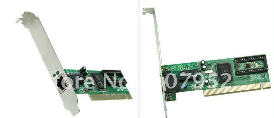 tracking number+10pcs/lot 100Mbps Ethernet PCI Network LAN Card +Free shipping(China (Mainland))