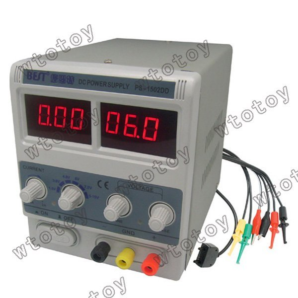 NES BEST-1502DD 15V 2A LED Display Stable Voltage DC Power Supply 13119