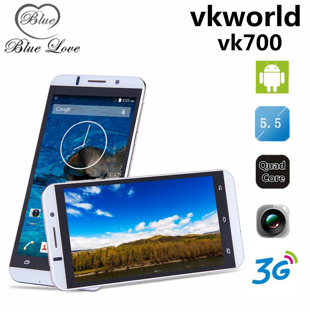 Original Vkworld Vk700 Android 4.4 13MP Camera Smartphone 3G WCDMA MTK6582 5.5