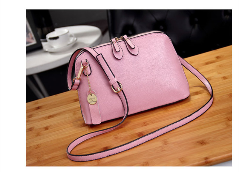 f66c90307161 Fashion Women Small Crossbody Bags Genuine Leather Candy Color ...