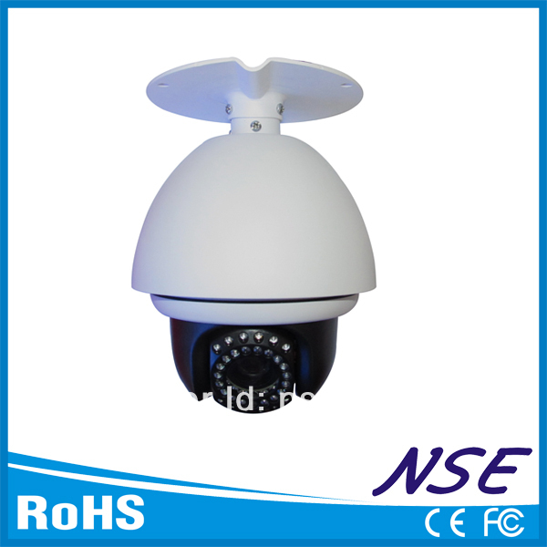 4inch 1000TVL Ceiling Infrared Security PTZ Camera Analog for Home and Factory Protection(China (Mainland))