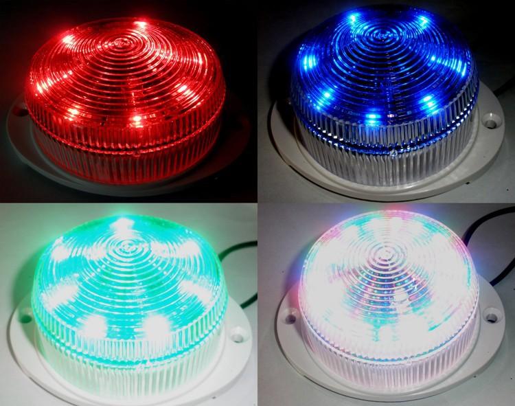 Новые ожидаемые 24 В 6A 3 цветов RGB из светодиодов легких грузовиков сигнальные лампы LA-554 бесплатная доставка