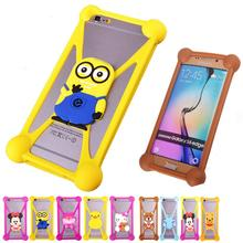 Free Shipping 2016 Minions 3D Cute Cartoon Anti knock TPU Silicone Phone Cases For Lenovo A3600 Rubber Cell Phones Case Cover