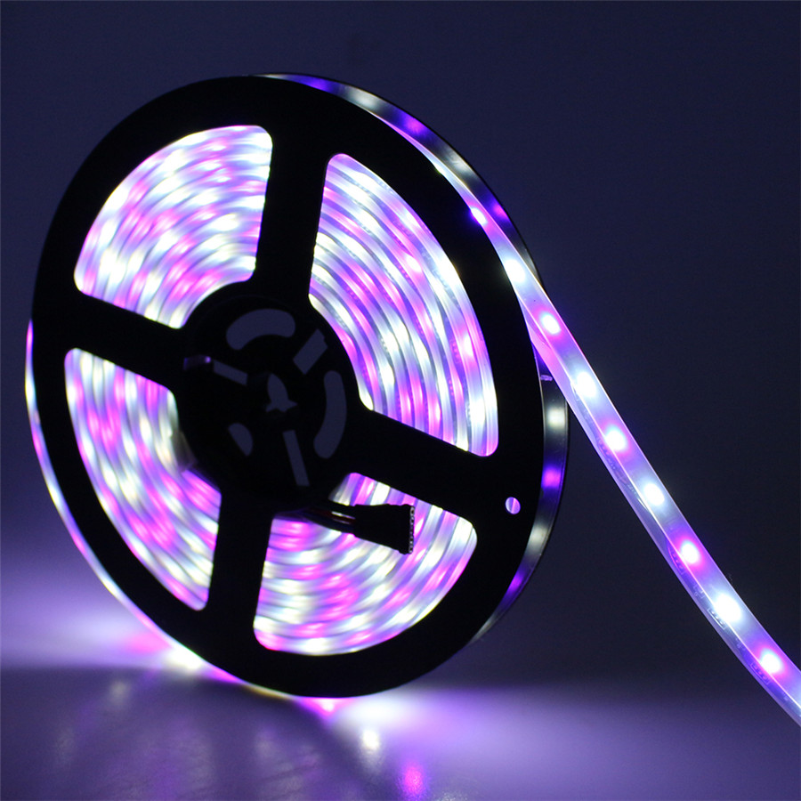 Black PCB 5050SMD 300Leds RGBW Led Strip Light 60Leds/M Waterproof IP67 With Silicone Tube Waterproof RGB+ White<br><br>Aliexpress