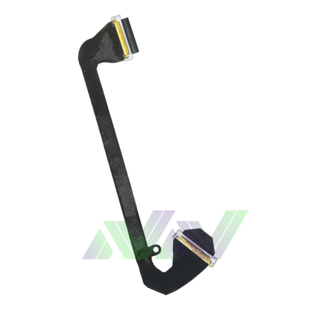 Free shipping 1pcs LCD screen line FLEX Cable replacement part for Apple Macbook A1297 2011 years Laptop(China (Mainland))