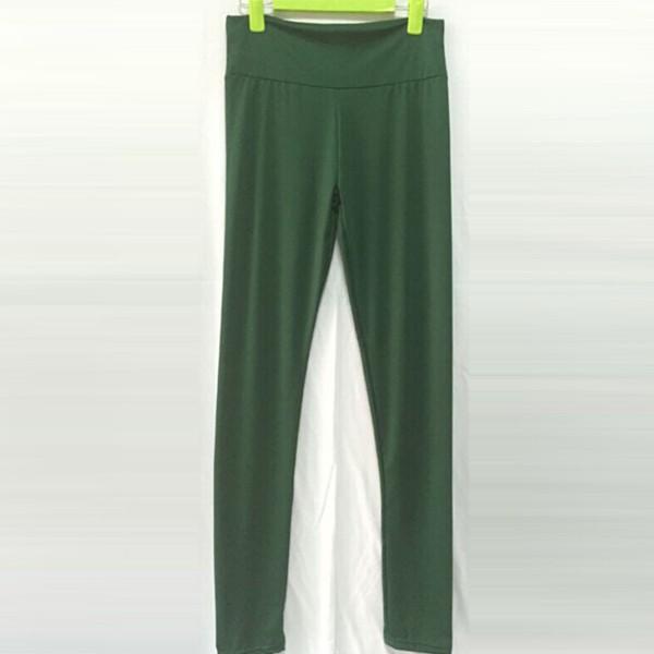 נשים בנות יוגה פועל מכנסיים גבוהה המותניים מכנסיים חותלות כושר כושר בגדים