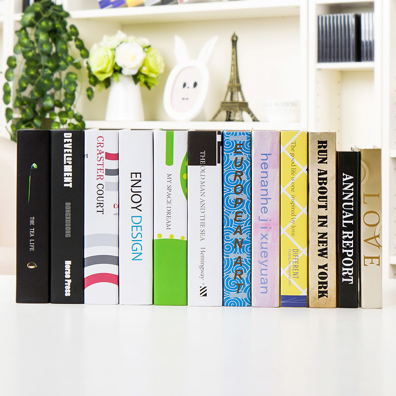 manufacturers selling fake book office decoration Home Furnishing Book bookcase Cafe ornaments wholesale book props wall dies(China (Mainland))