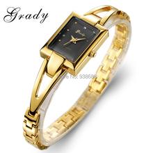 Grady gold watch women 3 ATM waterproof fashion women watches women s quartz watch free shipping