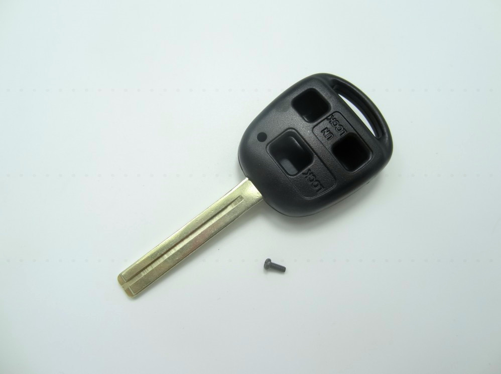 Replacement Remote Key Fob Shell Case 3 Button for Lexus key TOY40 Long blade Car key shell wholesale and retail