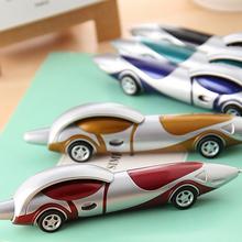 New Cute Kawaii Plastic Car Ballpoint Pen Novelty Ball Pen Creative Items Products Gift Korean Stationery Free shipping(China (Mainland))