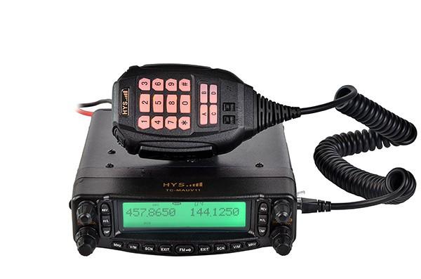 Двухдиапазонный мобильная хэм приемопередатчик с крест Band повторите USB Programcable TC-MAUV11 VHF / UHF 136-174 и 400 - 480 мГц
