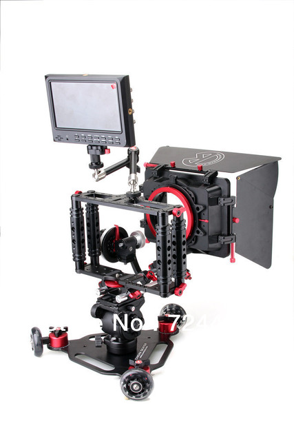 [Drop Shipping] Wholesale Professional Super Kamerar Camera Cage DSLR Camera Cage for Video Camera 5D II III 7D 60D 550D  ACRO