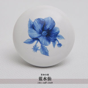 Здесь продается  10pcs lot free shipping European contemporary and contracted painted porcelain  drawer cabinet wardrobe door knob 101-WF-349  Аппаратные средства