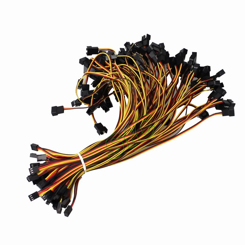 50 PCS GDT 12V PC Cooling Fan Power 2510-3p Female to dual 2510-3p male Y-Splitter Adapter Extension Cable Wire<br><br>Aliexpress