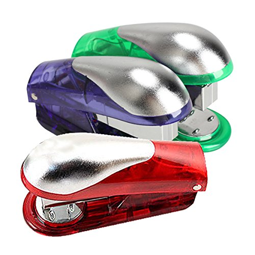 Electric Shocking Stapler Book Sewer Office Prank Shock Trick Gift Joke(1 Piece,not 3)(China (Mainland))