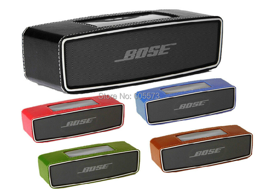 Leather Case Skin Pouch Bumper Bose Soundlink Mini Bluetooth Speaker 5 color - Honest Lin's store
