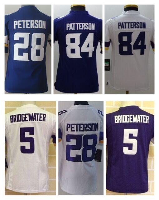 Nike Minnesota Vikings 5 Teddy Bridgewater White 2016 Pro Bowl ...