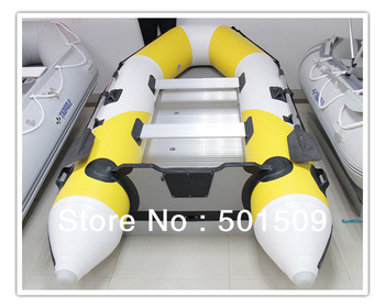 11 feet 330cm 0.9mm strengthen PVC fishing boat inflatable marine boat with aluminium floor high quality 3.3m 6 people match 15P
