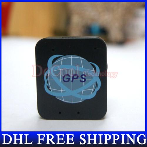 50pcs/lot Hot Sale Mini Car Tracking System GPS Personal Tracker LBS + SMS/GPRS Free shipping(China (Mainland))