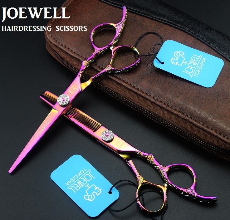 Joewell professional hair scissors high quality thinning tesoura de cabeleireiro profissional tijeras peluqueria forbici capelli(China (Mainland))