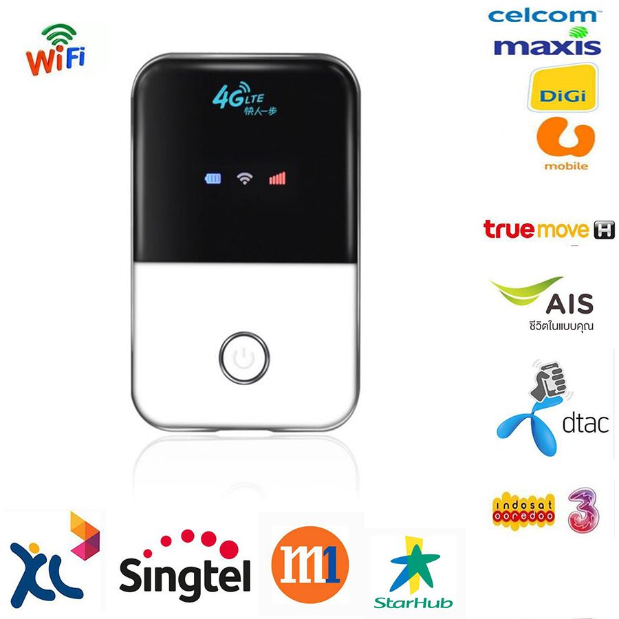 4G Lte Pocket Wifi Router Mobile Hotspot Mifi Ufi Modem Wireless Broadband Wi fi Router for Samsung Apple Xiaomi Huawei Phone(China (Mainland))