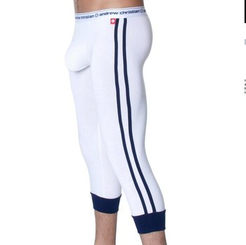 Super comfortable Man's sleep trouser /Free Shipping/Men's Bloom boomboom /long underwear/big sac /two colors/white
