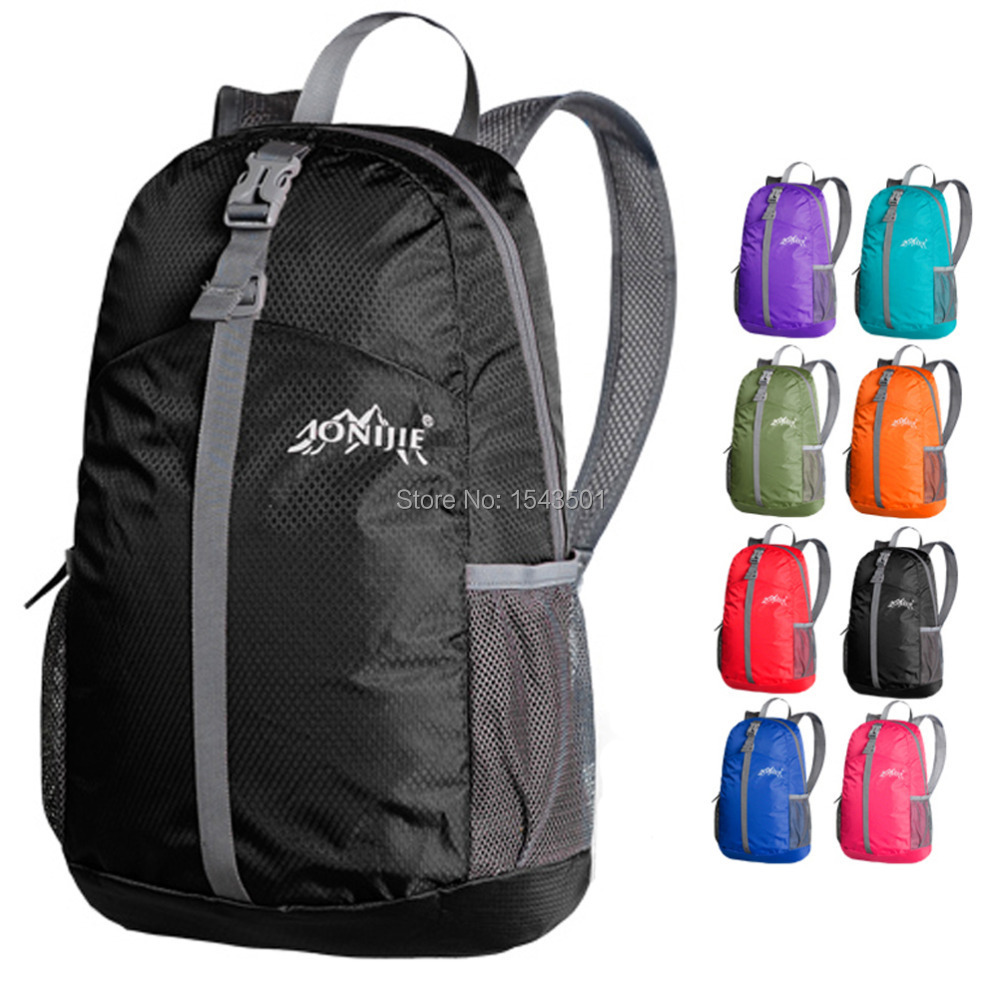 Hot sale Lightweight Waterproof men/women Travel Backpack Sports Camping/Hiking/cycling folding fitness shoulder bags sport bag(China (Mainland))
