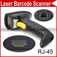 USB Long Scan Handheld Barcode Scanner Bar Code Laser Reader Decoder 650nm diode RJ-45 connector 4581
