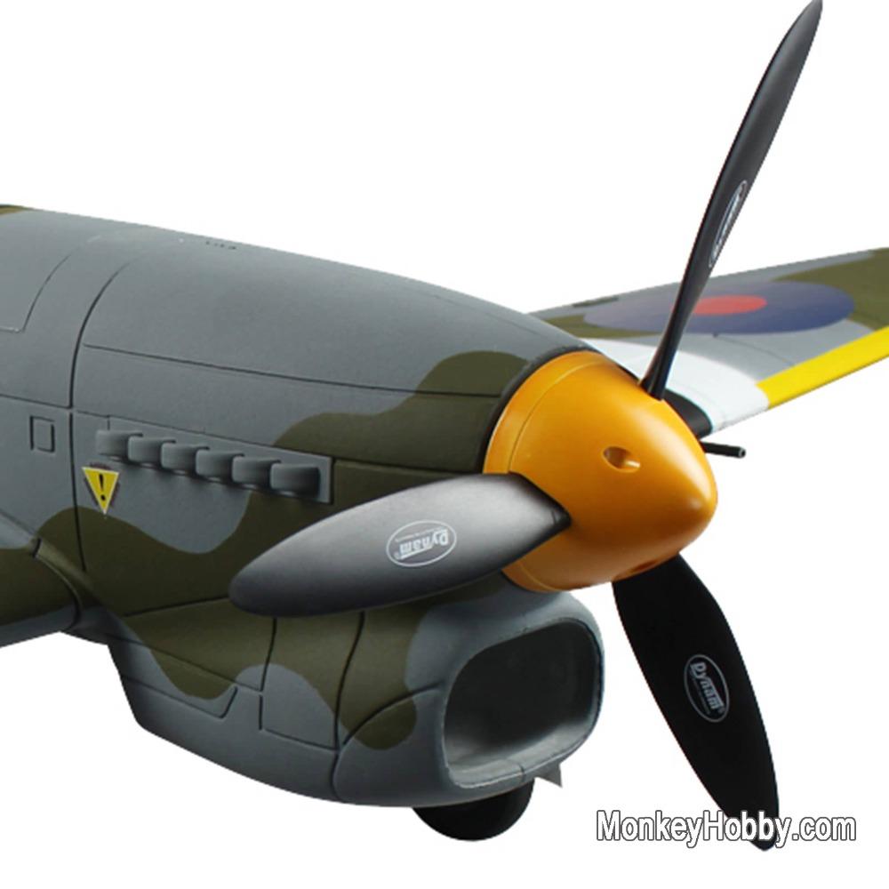 Dynam Hawker Tempest RTF (W/ 2.4G TX, AU Adapter model / Retract landing gear ) DY8959 RC airplane